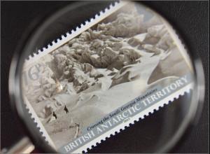 Britische Antarktis BAT 2015 Nr. 697-702 100 Jahre Trans Antarktis Expedition