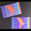 Moldawien Moldova 1994 Michel Nr. 139-50 Flugpostmarken selbstklebend