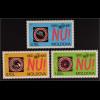 Moldawien Moldova 1995 Michel Nr. 184-86 50 Jahre UNO Nein zum Krieg