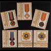 Moldawien Moldova 1999 Michel Nr. 315-20 Orden und Medallien