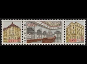 Slowakei Slovakia 2015 Michel Nr. 780 Tag der Briefmarke Postgebäude