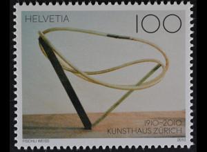 Schweiz Switzerland 2010 Michel Nr. 2158 **, 100 Jahre Kunsthaus Zürich