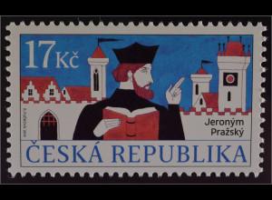 Tschechische Republik 2016 Michel Nr. 872 Hieronimus von Prag berühmte Person