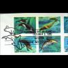 Sowjetunion USA Kombi FDC Meeressäugetiere Gemeinschatsausgabe Joint Issue 1990