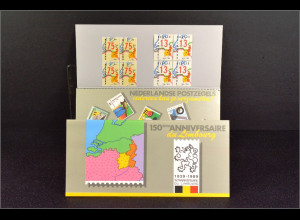 Belgien 2390 Niederlande 1370 Provinz Limburg Gemeinschatsausg. Joint Issue 1989