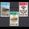 Gibraltar 1987 Michel Nr. 538-40 200 Jahre Königliches Pionier Regement