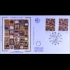 Frankreich Europarat Dienst MiNr. 51-52 FDC Hundertwasser Joint Issue 1994