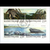 Finnland Rußland Kombi FDC Naturschutz Gemeinschaftsausgabe Joint Issue 1995