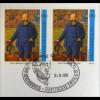 Belgien MiNr. 2679 + Luxemburg Kombi FDC Gemeinschaftsausgabe Joint Issue 1996