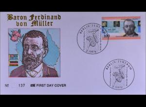 Bundesrepublik Deutschland MiNr. 1889 FDC Gemeinschaftsausgabe Joint Issue 1996