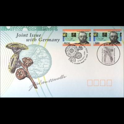 Australien 1605 + Deutschland 1889 Kombi FDC Gemeinschaftsausgabe Joint Issue