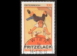 Österreich 2016 Michel Nr. 3248 Klassische Warenzeichen Fritze-Lacke Werbeplakat