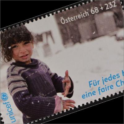 Österreich 2016 Michel Nr. 3249 UNICEF Für jedes Kind eine Chance Flüchtlinge