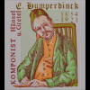 BRD Ersttagsbrief FDC Michel Nr. 2420 150 Geburtstag von Engelbert Humperdinck