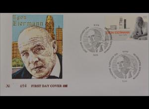 BRD Ersttagsbrief FDC Michel Nr. 2421 100 Geburtstag von Egon Eiermann
