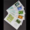 BRD Ersttagsbrief FDC Michel Nr. 2423-27 Wohlfahrt: Wunderbare Welt - Klimazonen