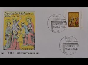 Bund BRD Ersttagsbrief FDC Michel Nr. 2437 Deutsche Malerei