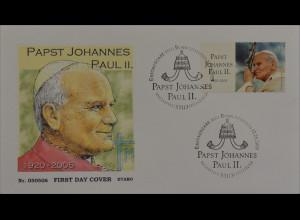 Bund BRD Ersttagsbrief FDC MiNr. 2460 Tod von Papst Johannes Paul II.