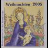 Bund BRD Ersttagsbrief FDC MiNr. 2492-93 Weihnachten Jünger
