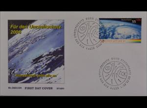 BRD Ersttagsbrief FDC MiNr. 2508 Umweltschutz Klimaschutz geht alle an