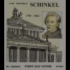 BRD Ersttagsbrief FDC Michel Nr. 2527 225. Geburtstag Karl Friedrich Schinkel