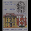 BRD Ersttagsbrief FDC Michel Nr. 2533 500 Jahre Universität Via-drina Frankfurt