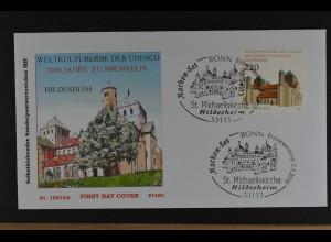 Bund BRD Ersttagsbrief FDC Michel Nr. 2779,1000 J. St.-Michaelis-Kirche, 2.1.10