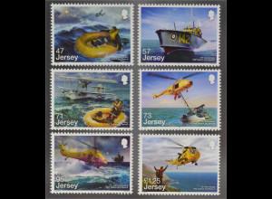 Jersey 2016 Nr. 1996-01 RAF Suchen Retten Hubschreiber Rettungsschiff Seerettung