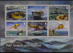 Jersey 2016 Block 137 RAF Suchen und Retten Hubschreiber Seerettung