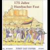 Bund BRD Ersttagsbrief FDC Michel Nr. 2603 175 Jahre Hambacher Fest