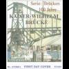 BRD Ersttagsbrief FDC MiNr. 2616 Brücken Kaiser-Wilhelm-Brücke Wilhelmshaven