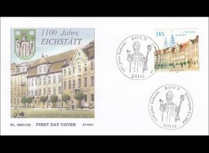 Bund BRD Ersttagsbrief FDC Michel Nr. 2638 1100 Jahre Eichstätt