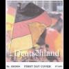BRD Ersttagsbrief FDC Michel Nr. 2760 60 Jahre Bundesrepublik Deutschland