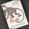 Slowenien Slovenia 2016 Nr. 1184 Jahr des Affen Chinesisches Horoskop