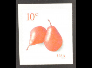 USA 2016 Michel Nr. 5215 Pears Birnen Obst Rolle selbstklebend