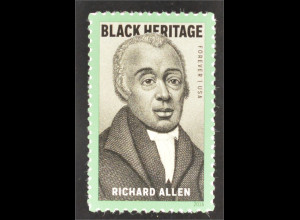 USA 2016 Michel Nr. 5229 Richard Allen Black Heritage berühmte Person