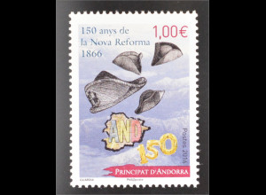 Andorra französisch 2016 Michel Nr. 802 150. Jahrestag neuer Reformen