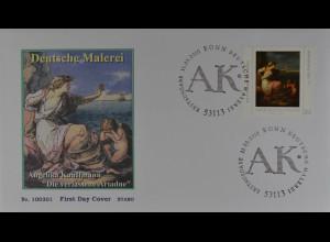 Bund BRD Germany Jahr 2010 Ersttagsbrief FDC Michel Nr. 2785 Deutsche Malerei