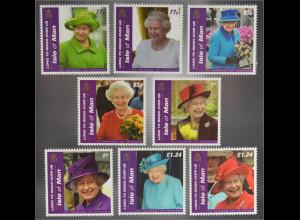 Insel Man Isle of Man 2016 Nr. 2112-19 Lang hersche Königin Elisabeth Queen