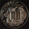 Tauftaler mit Etui Medaille zur Taufe in Silber Geschenk Taufpatin Taufpate
