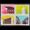 Estland EESTI 2016 Nr. 852-55 Innovation Moderne Architektur Bauwerke