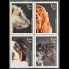Irland Èire 2016 Nr. 2163-66 Irischer Wolfshund Red Setter Sheepdog Kerry Blue
