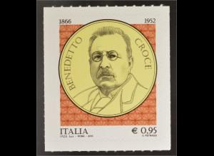 Italien Italy 2016 Michel Nr. 3882 150. Geburtstag von Benedetto Groce Politiker