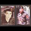 Kosovo 2016 Michel Nr. 330-31 Die gefallenen Soldaten Krieg Militär