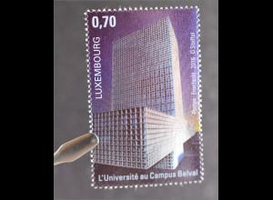 Luxemburg Luxembourg 2016 Michel Nr. 2084 Belval Neuer Campus der Universität