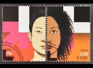 Vereinte Nationen UNO Wien 2016 Nr. 903-04 Gleichgeschlechterstellung HeForShe