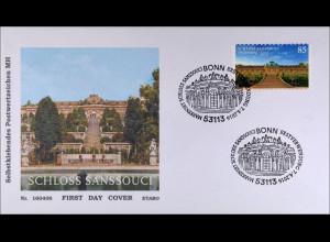 Bund BRD Ersttagsbrief FDC 7. April 2016 MiNr. 3231 Burgen Schlösser Sanssouci