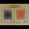 Österreich 2016 Block 89 Klassikausgabe Freimarken 1850 Erste Freimarken