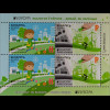 Weißrussland Belarus 2016 Block 134 Europa Ökologie Think Green Umweltschutz
