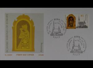 Bund Ersttagsbrief FDC Nr. 3240 2. Mai 2016 20 Jahre Shrines of Europe Altötting